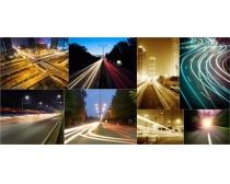 炫彩城市公路道路高清图片素材