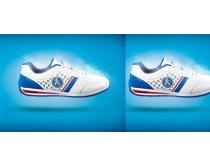 运动休闲鞋广告设计模板