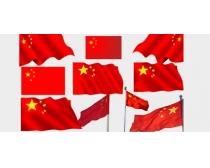 中国国旗PSD素材