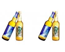 雪花啤酒效果图PSD素材