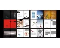 企业营销画册设计矢量源文件