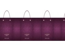 葡萄酒手提袋设计矢量素材