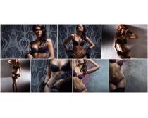 性感内衣模特高清图片素材