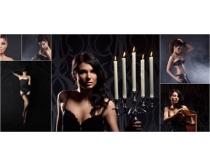 性感美女模特高清图片素材
