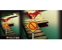 禁止吸烟广告牌PSD素材