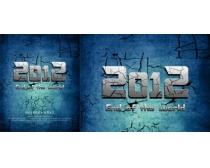 2012电影海报宣传PSD素材