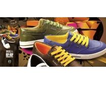 匡威运动鞋广告展板PSD素材