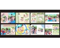 儿童相册模板PSD素材