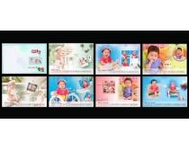 2013年儿童相册台历设计PSD素材
