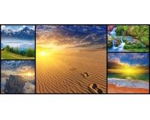 自然风景沙漠高清图片