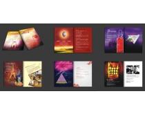 红酒公司宣传册设计PSD素材