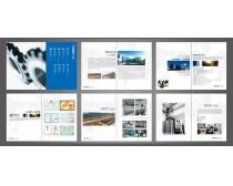 企业形象展示画册设计PSD素材