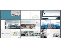 高档企业宣传册设计PSD素材