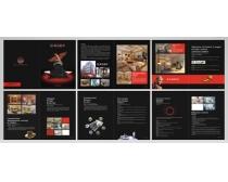 装潢公司画册设计PSD素材