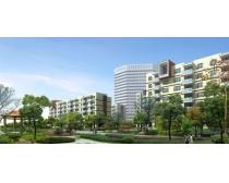 园林小区建筑景观PSD素材