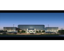 政府大楼建筑景观PSD素材