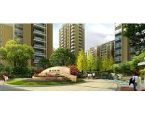 房地产小区景观建筑PSD素材