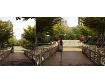 地产洋房环境景观PSD素材