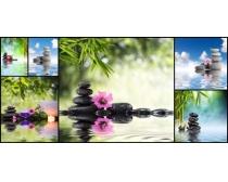 SPA风景广告高清图片