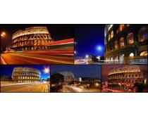 歐式建筑景觀高清圖片