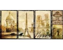 國外懷舊建筑圖紙高清圖片