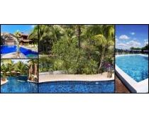 游泳水池风景高清图片