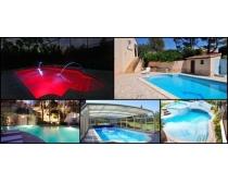 高档泳池环境高清图片