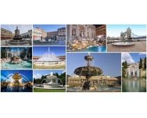 欧美喷水池高清图片