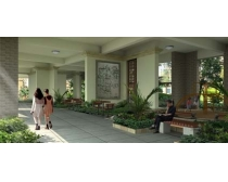 建筑小区休闲一楼景观PSD素材