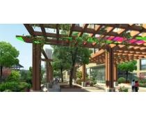 建筑过道环境设计PSD素材