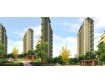 高楼地产环境景观PSD素材