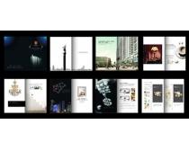 高档黑色房地产画册设计时时彩平台娱乐