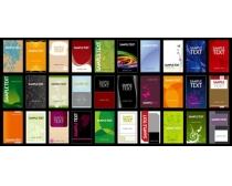 素材 设计/多款古典名片卡片设计矢量素材