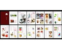 甜品店點價單設計矢量素材
