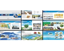 电动车画册设计PSD素材