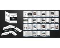 宝马产品宣传册设计PSD素材