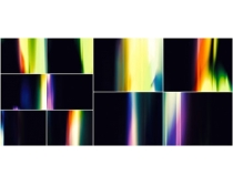 彩色光束图片素材