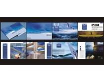 科技画册设计PSD素材