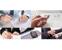 签字签合同图片素材