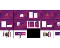 地产VI设计模板矢量素材