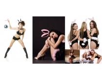 性感美女内衣写真高清图片素材