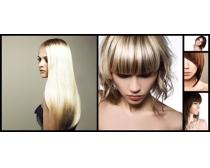 女人发型设计摄影高清图片图片