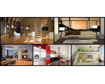 歐美風室內裝修設計攝影高清圖片