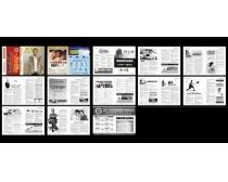 男科医疗保健杂志设计矢量素材