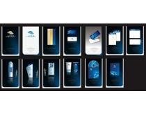 蓝色房地产VI设计时时彩平台娱乐