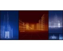 3D建筑圖形高清圖片
