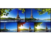 风景建筑塔摄影高清图片