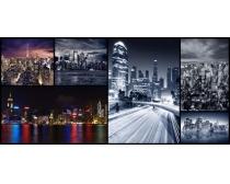 美丽的城市夜景风光高清图片