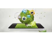 创意手机数码宣传PSD素材