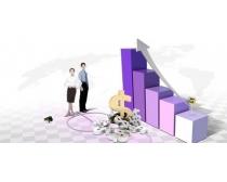 职业人物与商务信息科技PSD素材